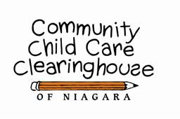 Child care Clearinghouse logo of pencil with name